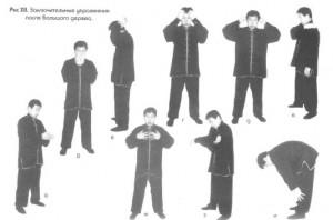 Заключительные упражнения после Большого дерева и Чаньцзо